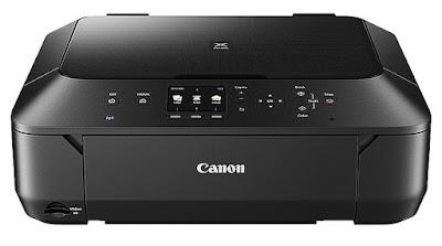 range color inkjet MFPs announced inwards September  Canon Pixma MG5570 Driver Download