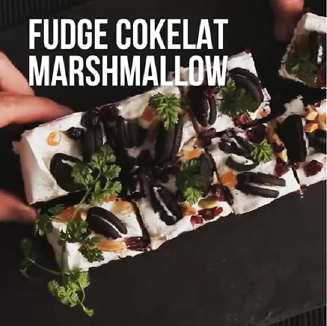 Gambar Fudge Cokelat Marshmallow