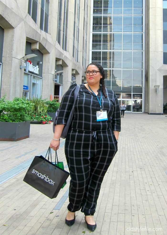old navy, outfit, jumper, jumpsuit, shopping, clearance, plus size, fashion, cidstylefile, makeup show, los angeles, how to shop, raplh lauren, coach