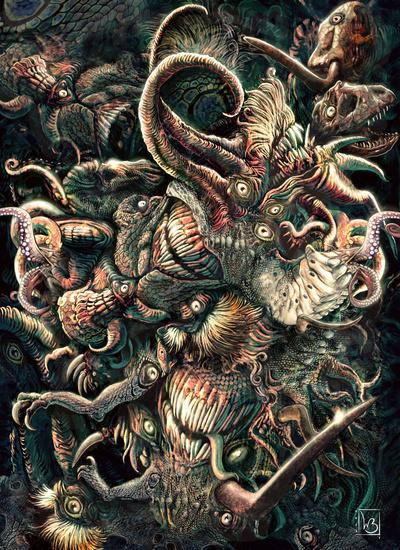 Azathoth Vs Cthulhu [Mage: The Awakening 2...