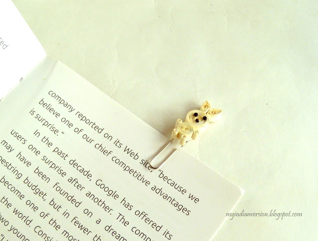 how-to-make-a-bookmark-with-quilling-and-paperclip-myindianversion