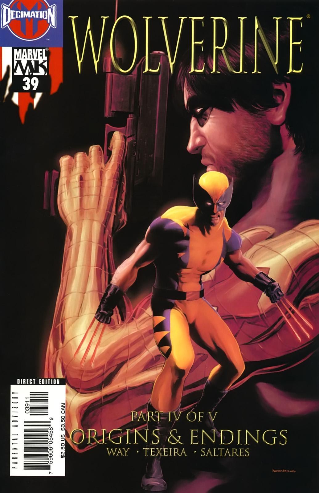 Read online Wolverine (2003) comic -  Issue #39 - 1