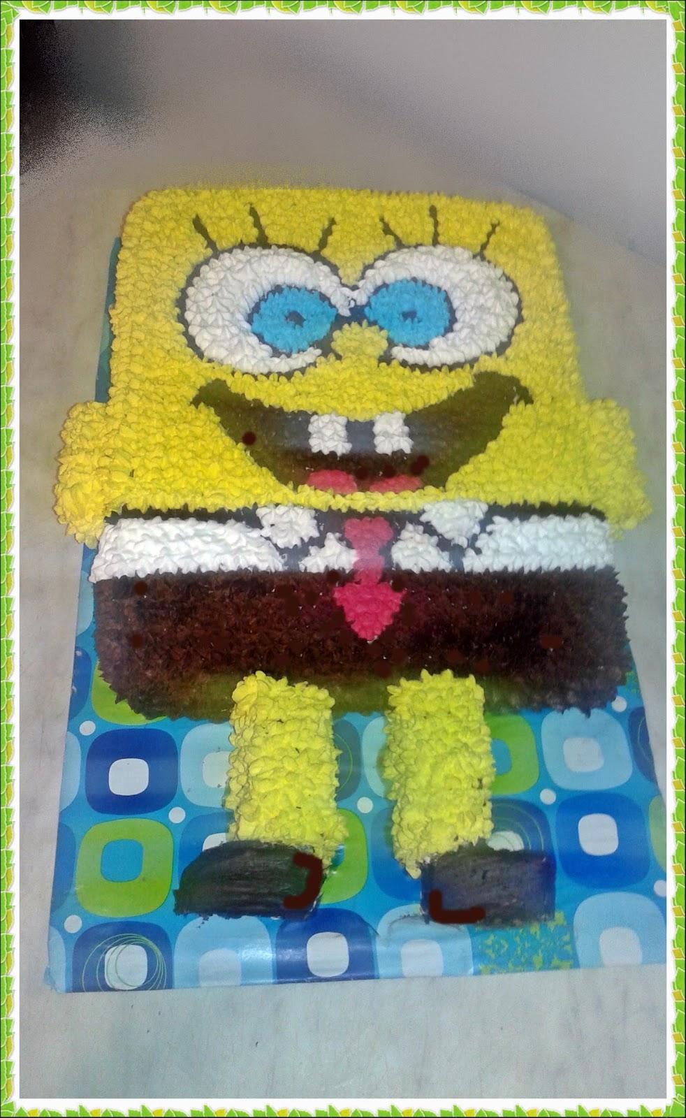 spongyabob torta képek Erika torái : SPONGYABOB TORTA 3. spongyabob torta képek