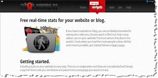 Cara Memasang Widget Untuk Jumlah Pengunjung Blog
