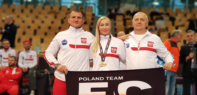 Emilia Czerwińska, full contact, kickboxing, Maribor, medale, Mistrzostwa Europy, Przemysław Kacieja, sport, sporty walki, Zielona Góra,