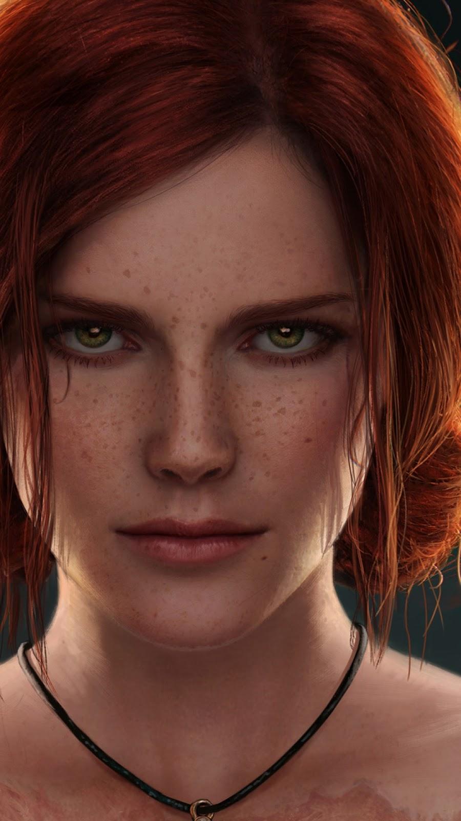 Papel de parede grátis Triss Merigold The Witcher para PC, Notebook, iPhone, Android e Tablet.