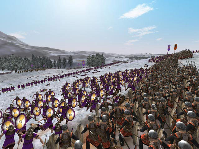 Rome Total War PC Games Screenshots