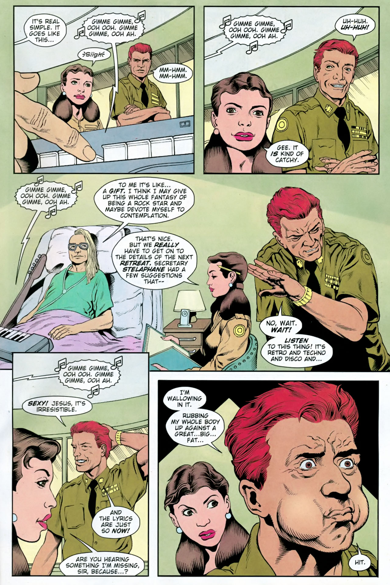 Read online Army @ Love comic -  Issue #11 - 12