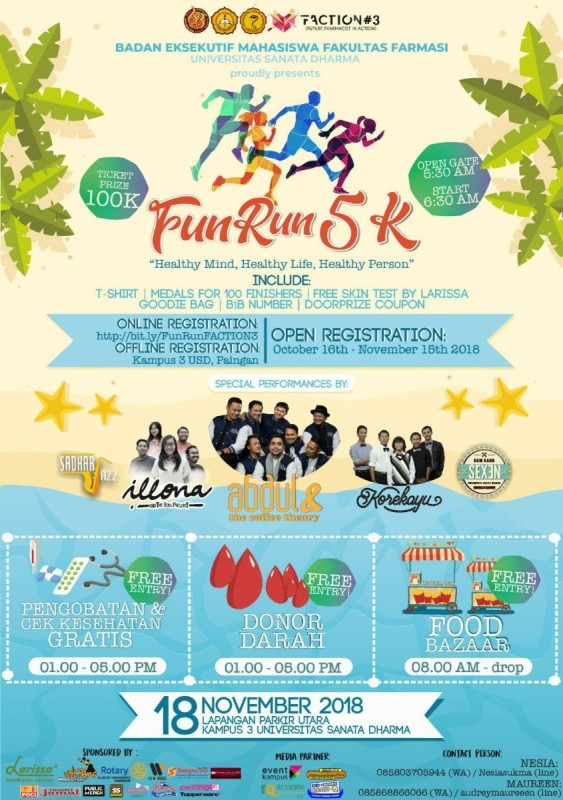 Fun Run Faction 3 • 2018