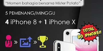Lomba Selfie Hadiah 5 iPhone Vol. 1 ( 1-8 Oktober 2017 )