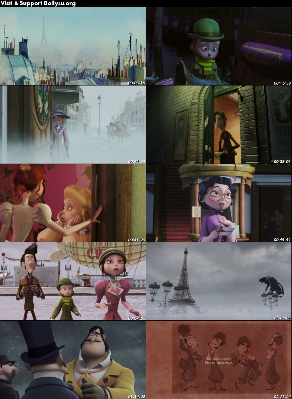 A Monster in Paris 2011 BRRip 300Mb Hindi Dual Audio 480p Download