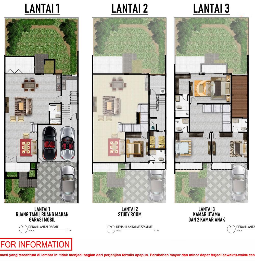 Show Unit Rumah Pik 2 Tipe Lotus 10x25 Pik 2 Sedayu Indo City Official By Agung Sedayu Group