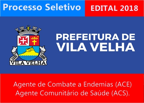 Prefeitura de Vila Velha Processo Seletivo 2108