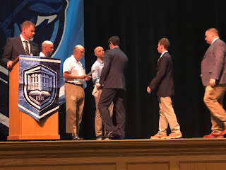 Franklin Youth Baseball was honored to present this year's scholarships