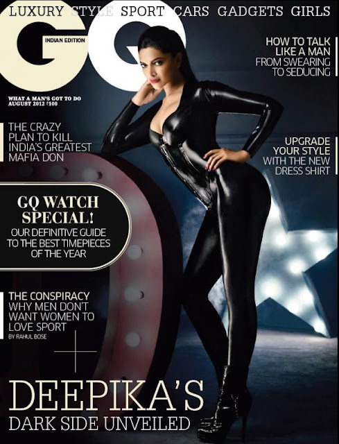 Deepika Padukone's Photo Shoot for GQ India - Aug 2012 issue