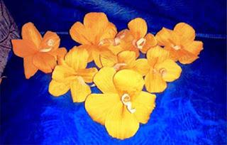 Gambar Bunga Dari Kulit Jagung Bekas