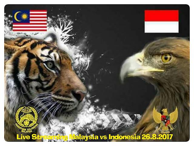 Live Streaming Malaysia vs Indonesia 26.8.2017 Bolasepak Sukan SEA