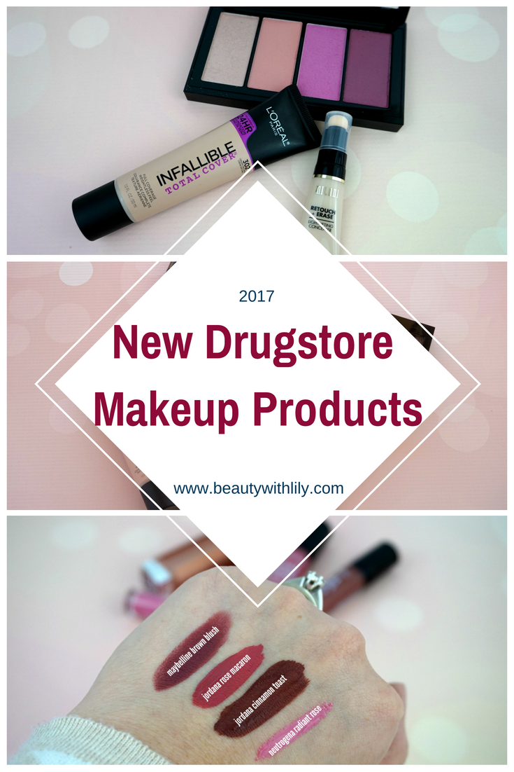 New Drugstore Makeup Reviews | beautywithlily.com