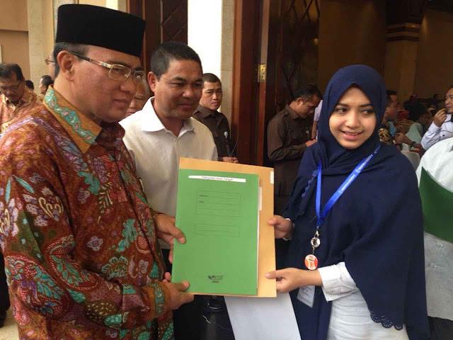 255 Tenaga Kesehatan PTT Aceh Tengah diangkat menjadi ASN