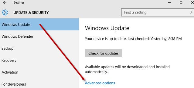 Tắt Update Windows 10 nhanh chóng, đơn giản, hiệu quả nhất b