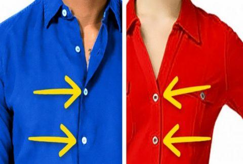 Αυτός είναι ο πραγματικός λόγος που τα γυναικεία πουκάμισα έχουν τα κουμπιά σε αντίθετη πλευρά από ότι τα αντρικά!