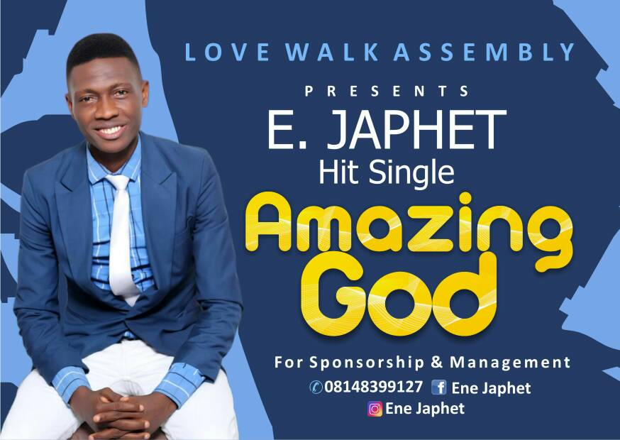 Amazing God by E Japhet