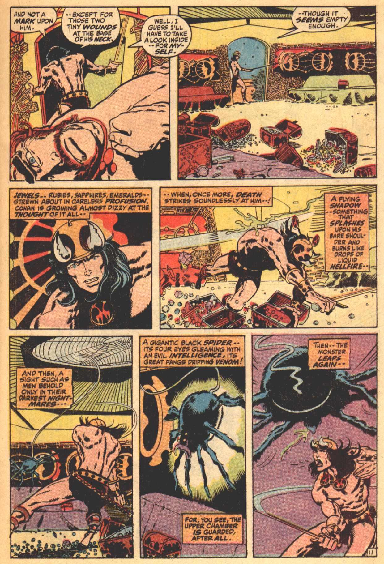 Conan the Barbarian (1970) Issue #4 #16 - English 12