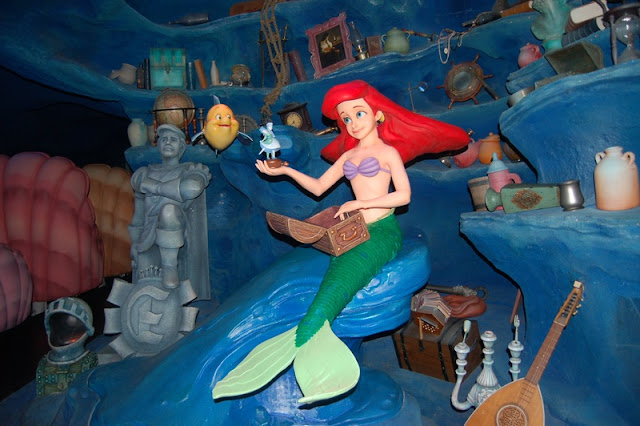 The little Mermaid at Fantasy Land