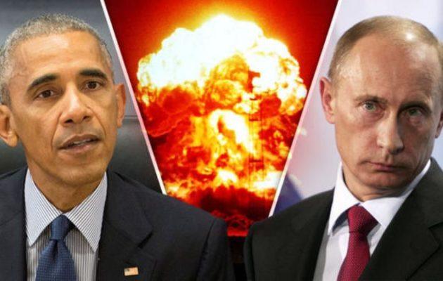 Πούτιν προς ΗΠΑ: «Αν θέλετε πόλεμο, θα σας δώσουμε έναν παντού»
