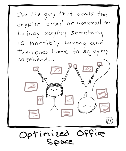 amusedbits, cartoon, Optimized, Office, space, humor, Horribly Wrong, Don't be that guy