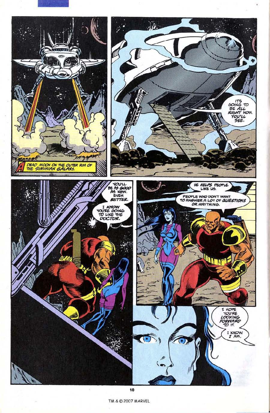 Read online Silver Surfer (1987) comic -  Issue #70 - 12
