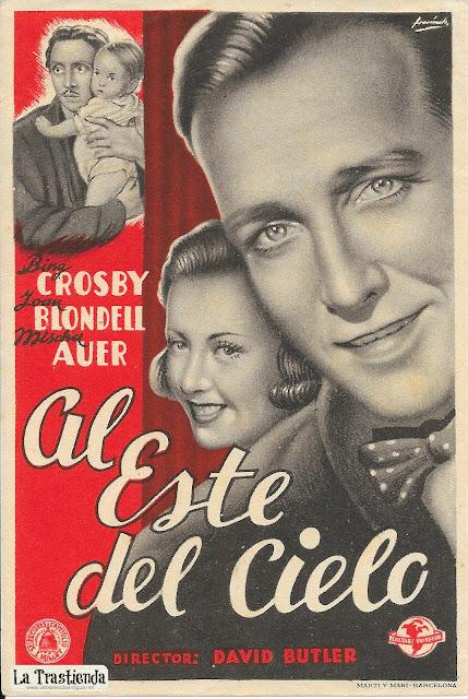 Al Este del Cielo - Programa de Cine - Bing Crosby - Joan Blondell