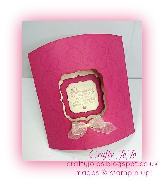 crafty jojos blog beautiful dome card very easy to make