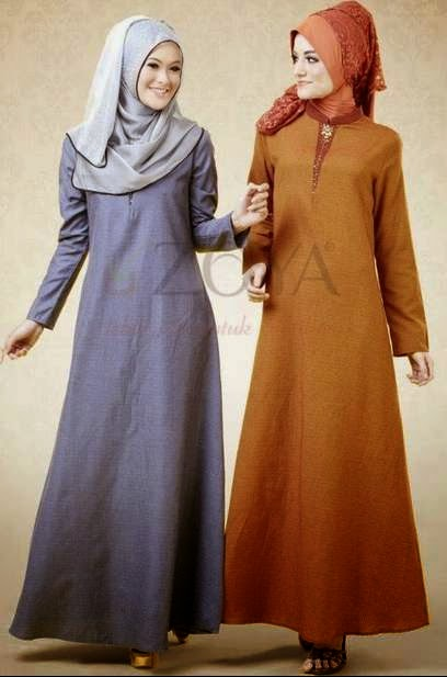 Contoh desain busana muslim zoya 2015