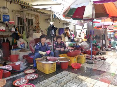 visite de Busan Corée du sud
