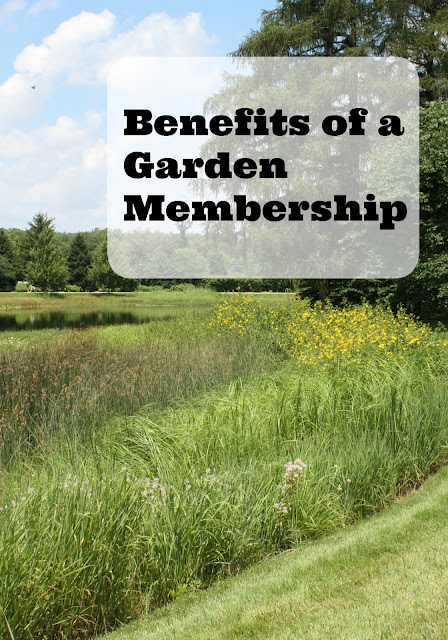 Benefits of a Garden Membership