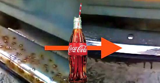 Truques de Limpeza com Coca-Cola - Removendo ferrugem