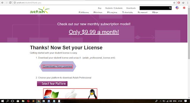 Cara Download Astah Original Gratis Bagi Pelajar