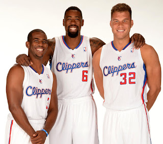 L.A Clippers: Chris Paul (3), Jordan (6), Griffin (32)