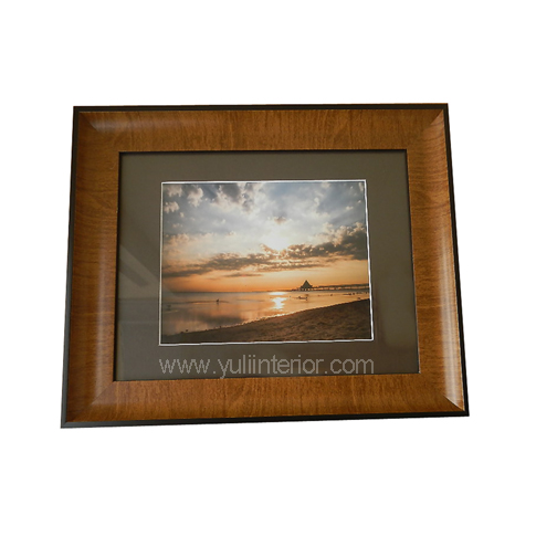 Sunset Wall Frame-Brown, Nigeria