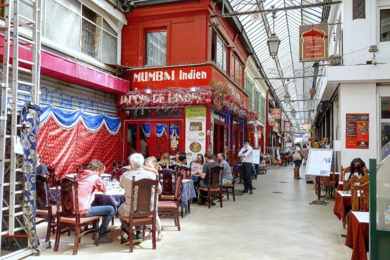Restaurant Indien Paris Passage Brady