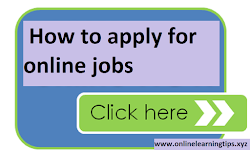 How to apply for online jobs