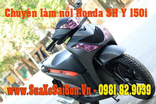 Chuyên làm nồi xe Honda Sh Ý 150 giá rẻ uy tín chất lượng