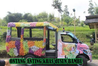 Kendaraan Khas Ontang-Anting dUSUN bAMBU LEMBANG BANDUNG