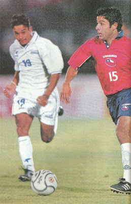 Chile y Honduras en partido amistoso, 22 de marzo de 2000