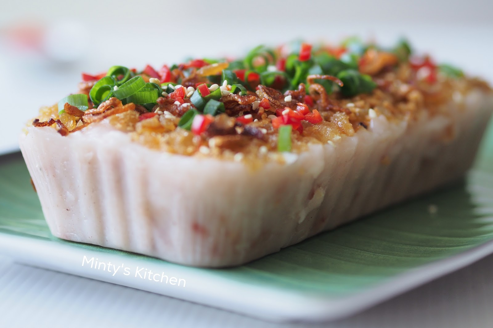 Steamed Yam Cake 芋头糕