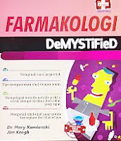 Judul Buku : FARMAKOLOGI DeMYSTiFieD Pengarang : Dr. Mary Kamienski – Jim Keogh Penerbit : Rapha Publishing