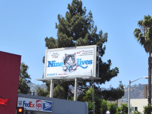 Nine Lives film billboard
