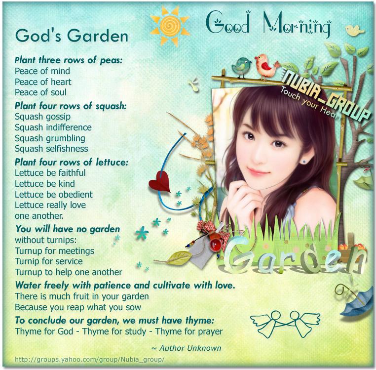 Nubia_group Inspiration *: God\'s Garden //