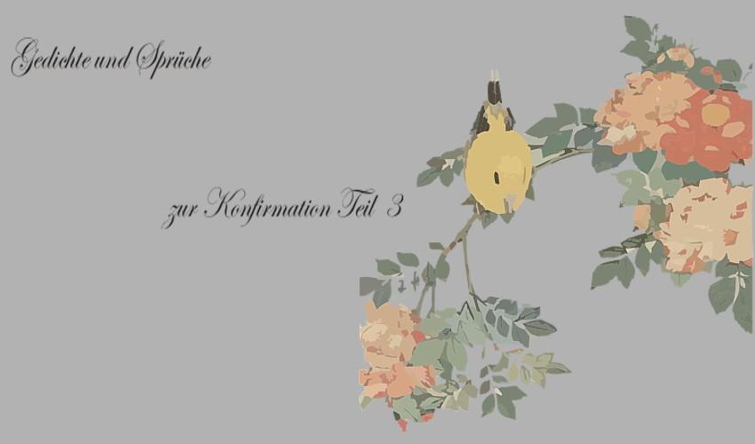 Gedichte Und Zitate Fur Alle Spruche Und Gedichte Zur Konfirmation T3